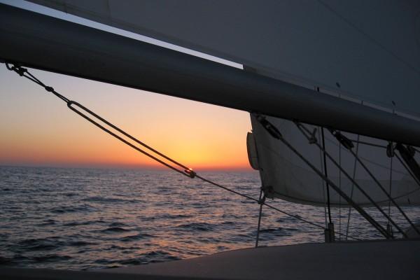 Indischer Ozean auf dem Weg nach Sri Lanka