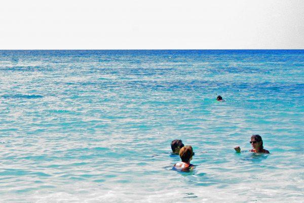 Malediven Uligamo Badestrand  4