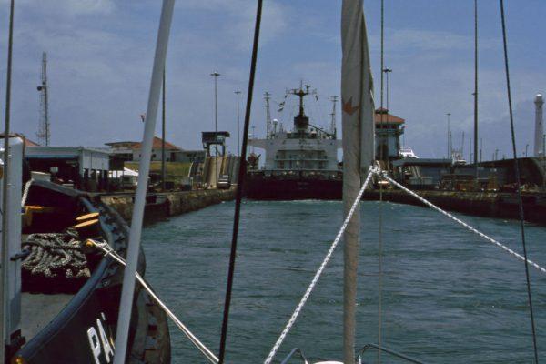 Panama Kanal Miraflores Schleuse