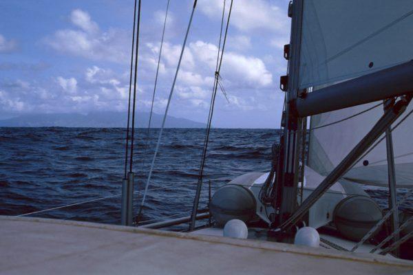 """Pazifik zwischen Galapagos und Fatu Hiva: """"Land in Sicht!"""""""