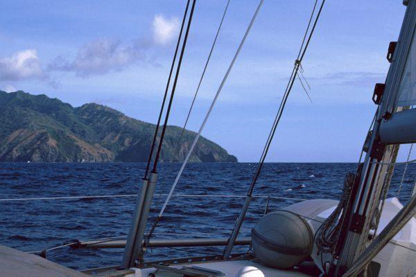 Pazifik  Fatu Hiva  in Sicht!