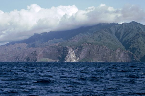 Pazifik  Fatu Hiva  Nordwestküste