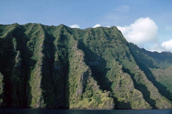 Pazifik  Fatu Hiva Westküste