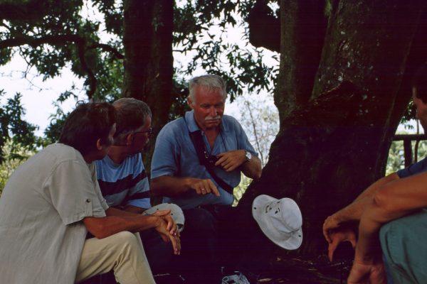 Pazifik Galapagos Isabela zum Vulkan Pause