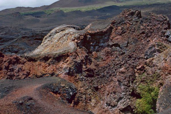 Pazifik Galapagos Isabela Vulkan