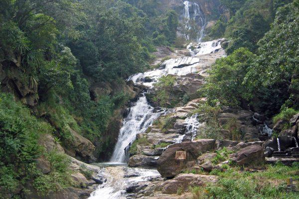 Sri Lanka/  Wasserfall
