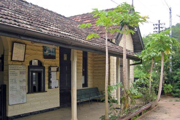 Sri Lanka  Eisenbahn Fahrt 14