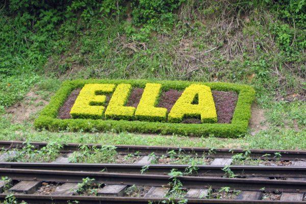 Sri Lanka / ELLA / Bahnstation