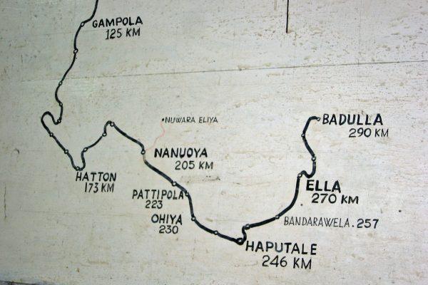 Sri Lanka  Eisenbahn Fahrt  2