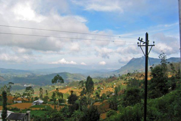 Sri Lanka  Eisenbahn Fahrt  9