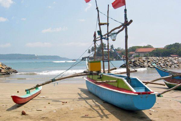 Sri Lanka/ Galle/ Hafen/ Fischerboote
