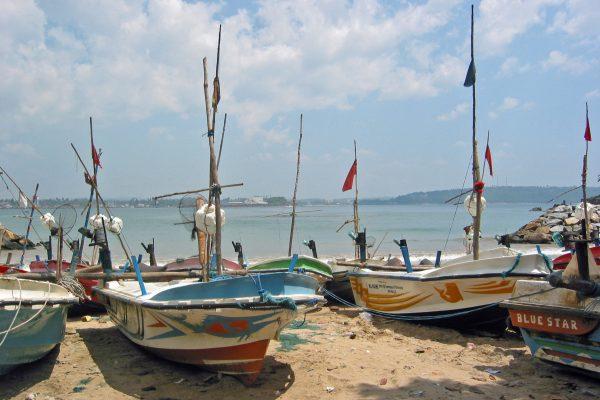 Sri Lanka/ Galle/ Hafen/ Fischerboote neu