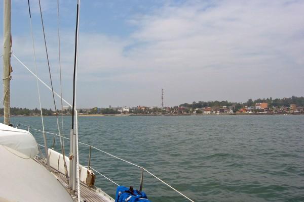 Sri Lanka/ Galle/ Hafeneinfahrt