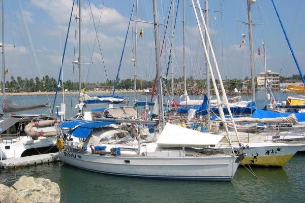 Sri Lanka/ Galle/ Hafen/ Wackelpier