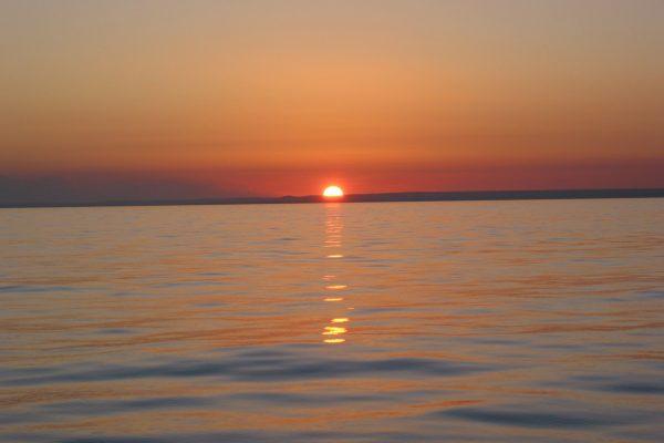 Cape-Hothem-Sonneuntergang